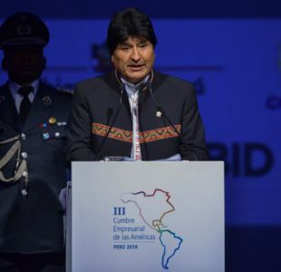 Evo Morales y Cumbre de las Américas: El mar de Bolivia será el mar de los pueblos