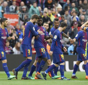 Barcelona supera al Valencia y suma su partido 39 sin perder en Liga