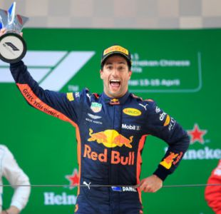 Ricciardo y Red Bull logran inesperada victoria en el Gran Premio de China de Fórmula 1
