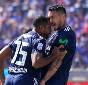 [VIDEO] Así fue la pelea entre Pinilla y Beausejour durante el Superclásico