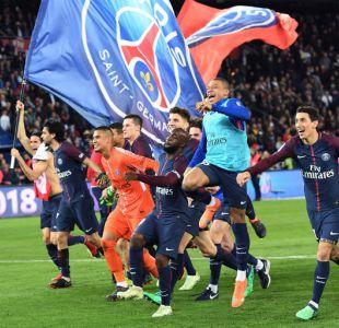 PSG se corona campeón tras golear 7-1 al Mónaco