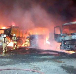 [VIDEO] Intendente por quema de 16 máquinas en Vilcún: Esto es un acto terrorista