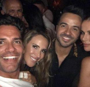 Cristián de la Fuente, Angélica Castro, Lus Fonsi y Águeda López