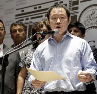 [VIDEO] Kenji Fujimori declara ante fiscal en caso contra su hermana Keiko