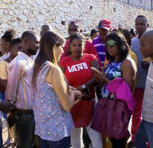 [VIDEO] Filas y dudas en Haití para conseguir nueva visa