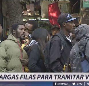 [VIDEO] Visas para venezolanos y haitianos: Dudas y largas filas en Extranjería