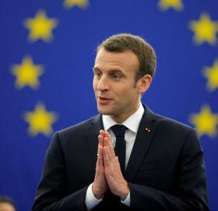 Macron reclama reforzar soberanía europea frente a los egoísmos nacionales