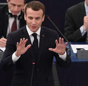 """Francia admite que ataque a Siria fue """"por el honor"""""""