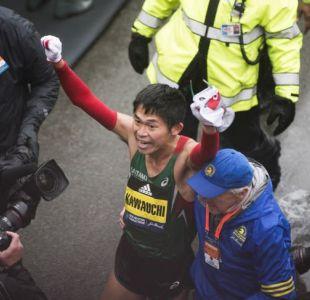 [VIDEO] La emocionante historia del japonés que ganó el Maratón de Boston