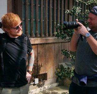 [FOTOS] El guardaespaldas de Ed Sheeran o el mejor Instagram del universo