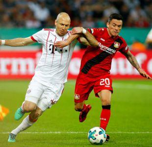 Bayern golea a Leverkusen con Aránguiz para avanzar a la final de Copa de Alemania