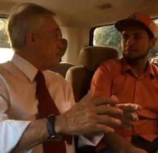 [VIDEO] El diálogo entre Piñera y un estudiante que sería beneficiado con gratuidad en CFT e IP