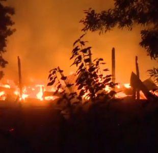 [VIDEO] Investigan nueva quema de maquinaria en La Araucanía