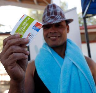 [FOTOS] Cerro Navia inicia campaña contra el VIH con el negro de WhatsApp