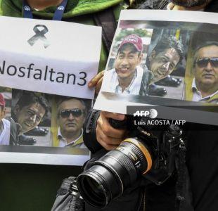 Detienen a miembro de grupo sindicado como responsable del asesinato de periodistas en Ecuador