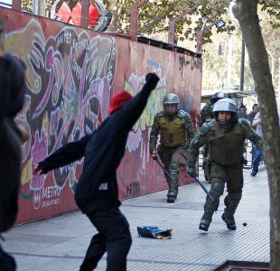 [VIDEO] Primera marcha de la Confech deja 180 detenidos y daños menores en Santiago