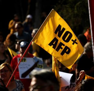 """[VIDEO] Primera marcha """"No + AFP"""" del año se llevó a cabo a lo largo del país"""
