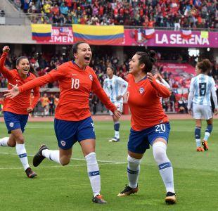 Chile golea a Argentina y clasifica a Mundial de Francia 2019 y repechaje de Tokio 2020