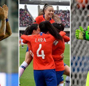 Seleccionados felicitan a La Roja tras golear a Argentina en la Copa América Femenina
