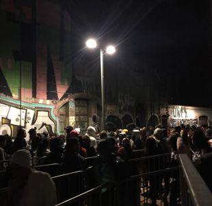 [VIDEO] Proceso de regularización de migrantes inicia con largas filas en el estadio Víctor Jara