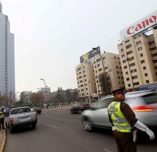 Restricción vehicular permanente: Las calles donde comienza la fiscalización con cámaras