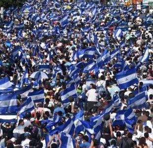 Las imágenes de las nuevas manifestaciones en Nicaragua pese a que el gobierno canceló las reformas