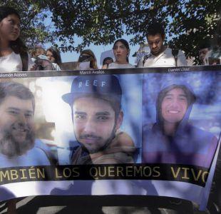 Javier Salomón Aceves Gastélum, de 25 años, Jesús Daniel Díaz, de 20, y Marco Francisco García Ávalos de 20, desparecieron el 19 de marzo.