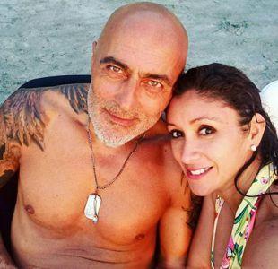 Angélica Sepúlveda junto a su amor turco