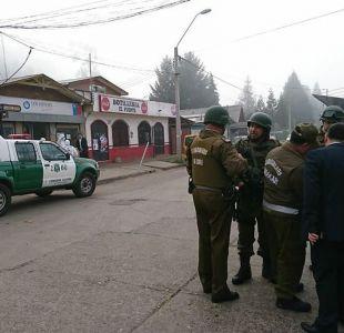 [VIDEO] Investigan vinculación a la CAM de asaltante de caja de compensación en La Araucanía