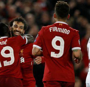 Salah y Firmino lideran goleada de Liverpool sobre Roma en semis de Champions