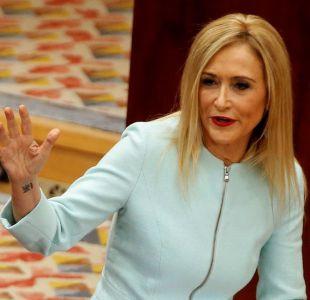 El escándalo del robo de dos cremas en España que forzó la renuncia de Cristina Cifuentes