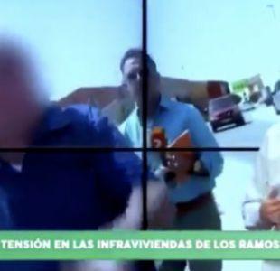 [VIDEO] Periodista español es agredido mientras realizaba un reportaje