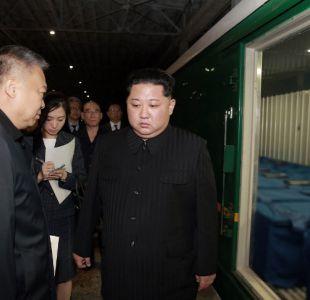 Kim acude a despedir el tren con los cuerpos de turistas chinos muertos en Corea del Norte