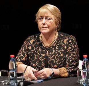 Ex Presidenta Bachelet acusa invisibilización del proceso constituyente