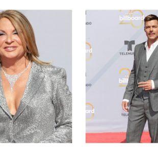 La Doctora Polo y Ricky Martin