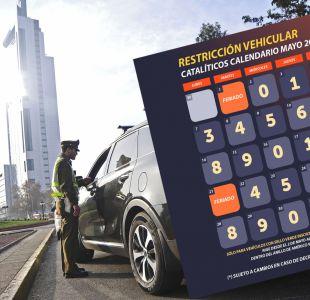 Restricción vehicular para catalíticos: revisa el calendario de mayo
