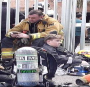 [VIDEO] Padre e hijo: de voluntarios a héroes de la tragedia en Concepción