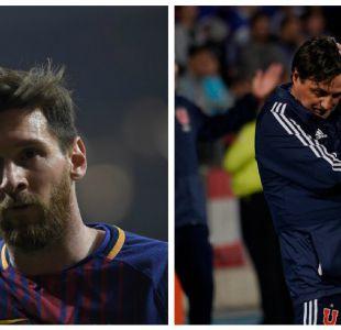 Lionel Messi sorprendió con apoyo a Ángel Guillermo Hoyos tras salida de la U