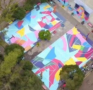 [VIDEO] El graffiti solar de Ciudad de México