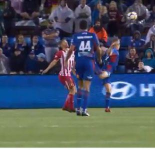 [VIDEO] Descomunal golazo a lo escorpión ya es postulado al Premio Puskás de la FIFA
