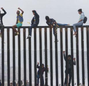 Migrantes centroamericanos llegan a la frontera mexicana con EE.UU y planean pedir asilo