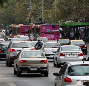 Tránsito en Santiago