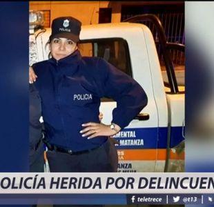 [VIDEO] Mujer policía resulta herida de gravedad tras balacera en comisaría