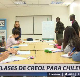 [VIDEO] Chilenos optan por aprender creole para una mejor comunación con haitianos