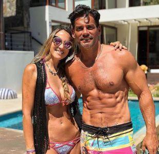 Angélica Castro y Cristián de la Fuente tienen una hija de 13 años