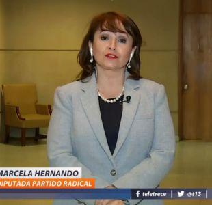 """[VIDEO] Marcela Hernando: """"Hubo presiones para cambiar el protocolo de objeción de conciencia"""""""