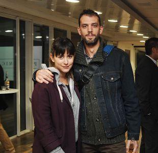 Lorena Bosch y su pareja de origen francés