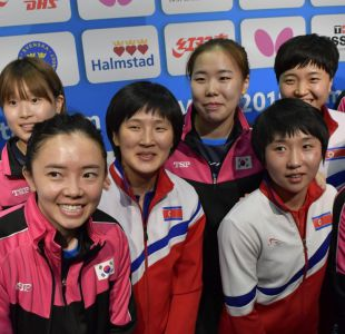 Tenimesistas de las dos Coreas rechazan enfrentarse en un mundial