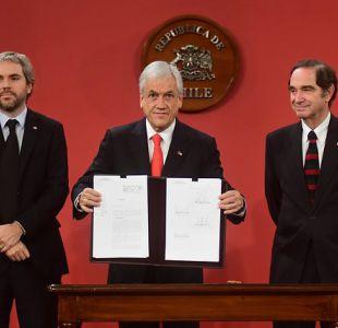 [VIDEO] Piñera anuncia imprescriptibilidad total de abusos sexuales contra menores