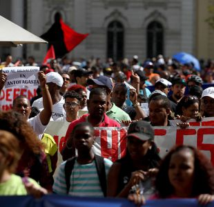[VIDEO] Proceso de regularización migratoria: Trámites de haitianos doblan a los venezolanos